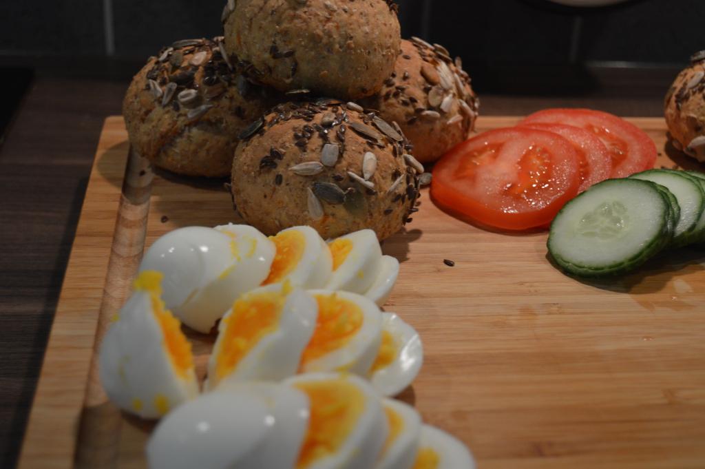 Homemade Carrot Bread Rolls