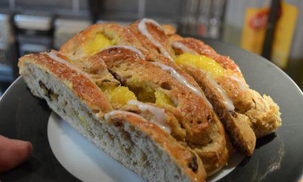 "ChefNorway's Rolls Choice, Vanilla Braided ""Kringle"" Pastry"